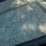 Das Grab von Benjamin Franklin
