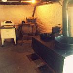 Sommerküche im Keller