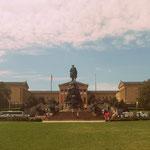 Blick auf das Washington Monument, dahinter: Museum of Art / Rocky Steps