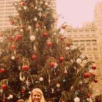 Weihnachtsbaum im Bryant Park
