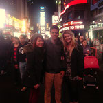 Time Square mit Lisa & Roger