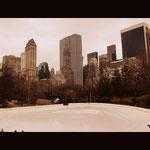 Eislauffläche im Central Park
