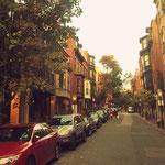 Straße im Beacon Hill Viertel