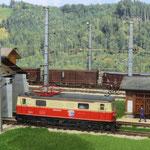 Lokschuppen in Mariazell