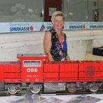 Zuletzt noch ein Bild des größten ausgestellten Modells, eine 2070 in 5 Zoll vom Dampfbahnclub Graz