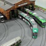 Spur H0 - eine kleine aber feine Anlage vom Tramwaymuseum Graz