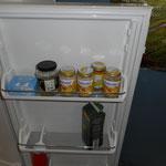Verpflegung für unsere kleinsten Bauhelfer / unser Kühlschrank