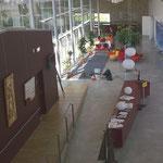 in-folio / PLOEREN centre culturel /  le hall de la médiathèque