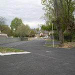 in-folio / PLOEREN centre culturel /  stationnements en plateaux