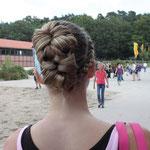 Neue Frisur: hinten