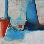 Ohne Titel 1802, Öl und Acryl auf Leinwand, 2018, 70 x 90 cm