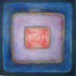 Karree M 14, Öl und Acryl auf Leinwand, 2010, 50 x 50 cm