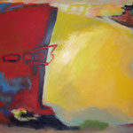 O.T., Öl und Acryl auf Leinwand, 2010, 100 x 120 cm, Privatbesitz