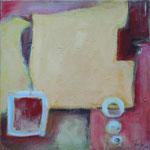 In Erwartung III, 2004, Acryl auf Leinwand, 40 x 40 cm
