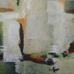 Öl und Acryl auf Leinwand, 2018, 80 x 100 cm