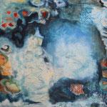 Great Barrier, Öl und Acryl auf Leinwand, 2019, 70 x 100 cm