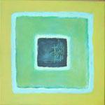 Karree S 11, 2012 Öl und Acryl auf Leinwand, 40 x 40 cm