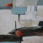 1815, Öl und Acryl auf Leinwand, 2018, 100 x 80 cm
