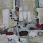 1823, Öl und Acryl auf Leinwand, 2018, 80 x 100 cm