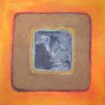 Karree L 26, Öl und Acryl auf Leinwand, 2010, 58 x 58 cm