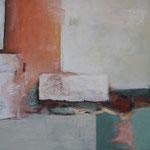 Ohne Titel 1704, Öl und Acryl auf Leinwand, 2017, 80 x 140 cm