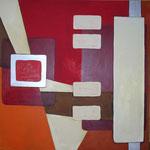 Chip I, Acryl auf Leinwand, 2009, 100 x 100 cm