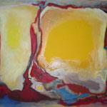Phönix, Öl und Acryl auf Leinwand, 2010, 100 x 120 cm, Privatbesitz
