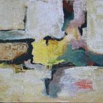 Fast Frühling, Öl und Acryl auf Leinwand, 2017 , 65 x 90 cm