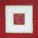 Karree S 12, 2012 Öl und Acryl auf Leinwand, 40 x 40 cm