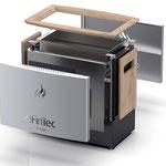 >> Design neuer Elektro-Saunaofen TJARK für FinTec  >> Design new electric sauna heater TJARK for FinTec, www.fintec.de