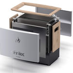Design neuer Elektro-Saunaofen TJARK für FinTec  >> Design new electric sauna heater TJARK for FinTec, www.fintec.de