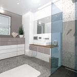Visualisierung Umbau Badezimmer, 3D CAD Rendering  >> Visualization reconstruction bathroom, 3D CAD Rendering