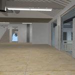 Visualisierung Umbau Schreinerei Gutmann, Münstertal, 3D CAD Rendering  >> Visualization reconstruction woodwork-shop, Gutmann, Münstertal, 3D CAD Rendering