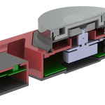Magnetrührerkonzept IP54, Aufbau als 3D CAD Modell, www.ika.de