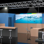>> Design und Visualisierung Messestand >> Design and visualization exhibition booth