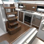 Yacht Design, Entwurfsphase, für www.independence-cruiser.com  >> Yacht Design design phase, for www.independence-cruiser.com