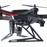 Design Flugdrohne mit erhöhter Hebelast für Laserscanner und Wärmebildkameras