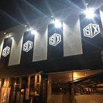 千葉県成田市看板製作 クラブSIX様 ミラーサインLEDライト デザイン、製作、施工