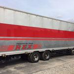 千葉県成田市看板製作 ㈱REX 様 トラックマーキング デザイン、製作、施工