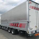 成田市看板製作 ㈱REX 様 大型トラック マーキング デザイン、製作、施工