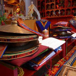 Feierlichkeiten im buddistischen Zentrum