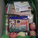 Das Paket :) Ein bissi fehlt noch