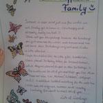 Brief and die gesamte Familie