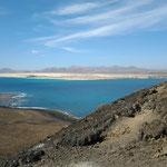 Fuerteventura im Hintergrund