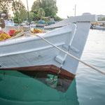 Fischerbott im Hafen von Georgiopoulis