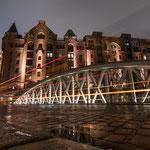 Neuerwegsbrücke, Speicherstadt, Hamburg, St. Annenplatz