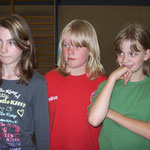 Celina, Nina und Johanna