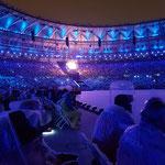 Die olympische Flamme