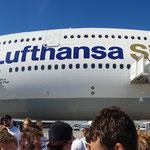 Der Lufthansa Siegerflieger