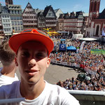 Selfie auf dem Balkon